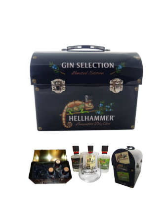 Hellhammer Gin selection limited edition